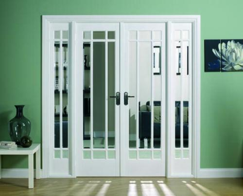 Internal French Doors With Sidelight Options Manhattan