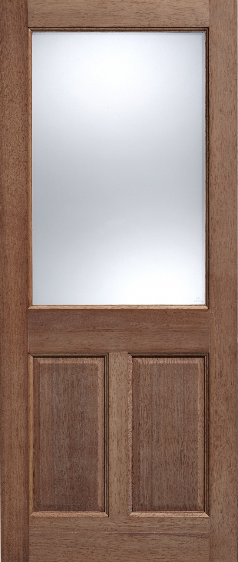 2XG 2 Panel Hardwood & 2XG 2 Panel Hardwood External Doors From Vibrant Doors