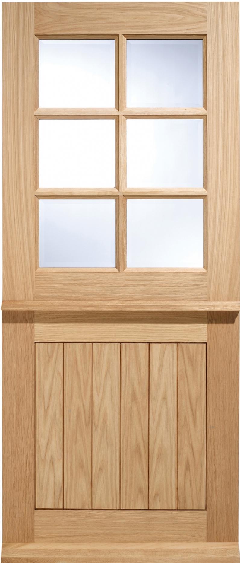 Cottage Stable 6 Light Door Oak Exterior Doors Oak Front
