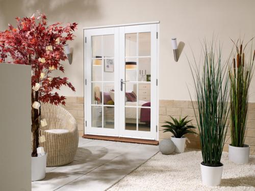 1800mm 6ft 8 lite french doors softwood white french for 1800mm french doors