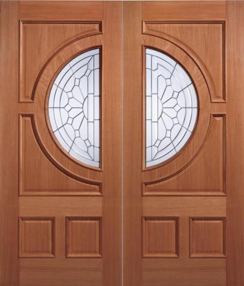 Empress Hardwood Pairs Grand Entrance Doors From