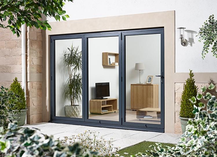 3000mm 10ft 3 door left hand folding from outside for 10 foot sliding patio door