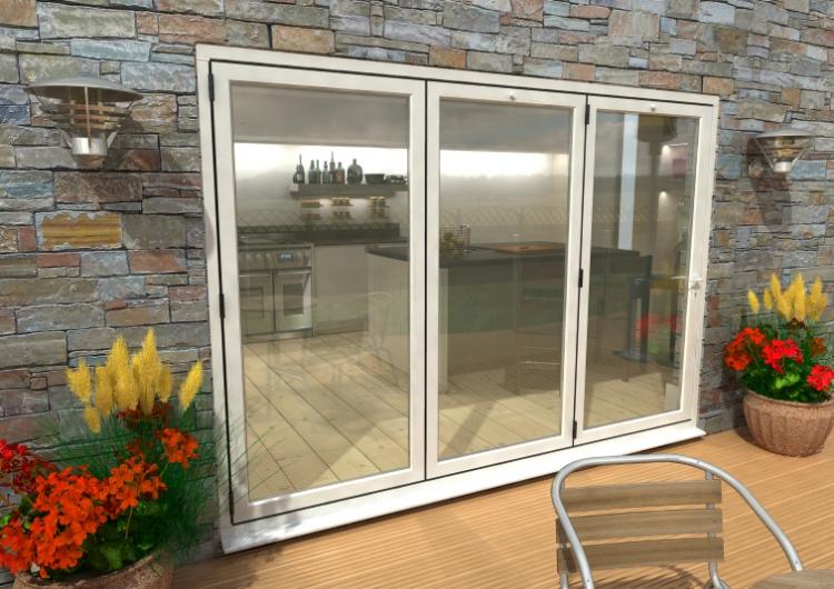 3000mm 10ft 3 door climadoor white aluminium bi for 1800 patio doors