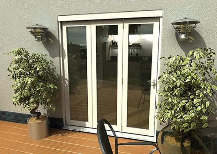 1800mm 3 door 1790mmx2090mm classic white folding doors for 1800mm french doors