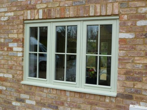 Flush Glazed Windows : Flush casement windows bespoke from vibrant doors