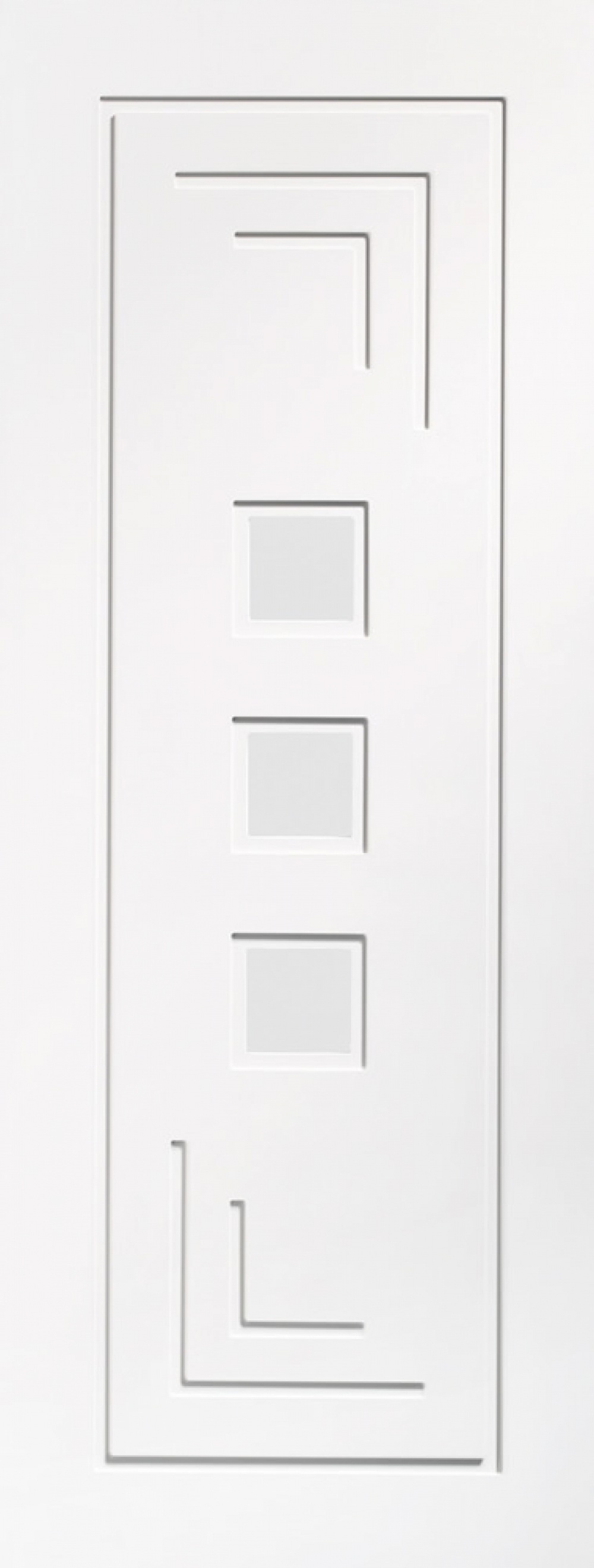 Altino White Glazed Door