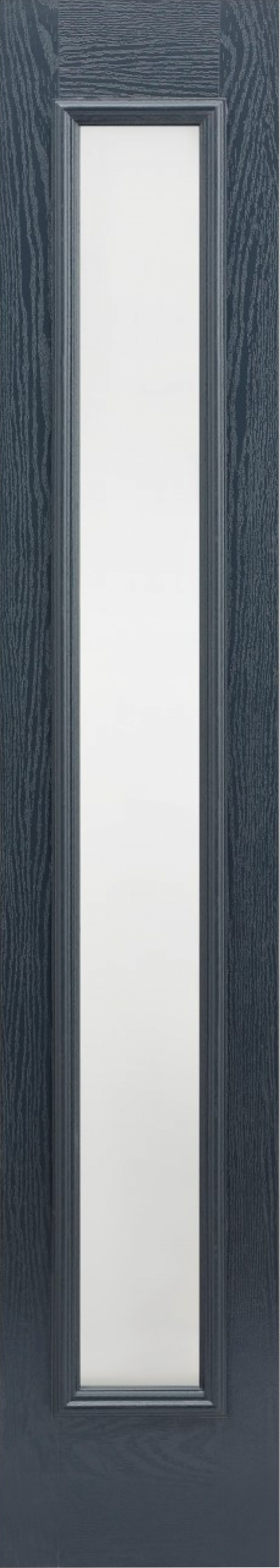 Black Frosted Glazed Composite Sidelight