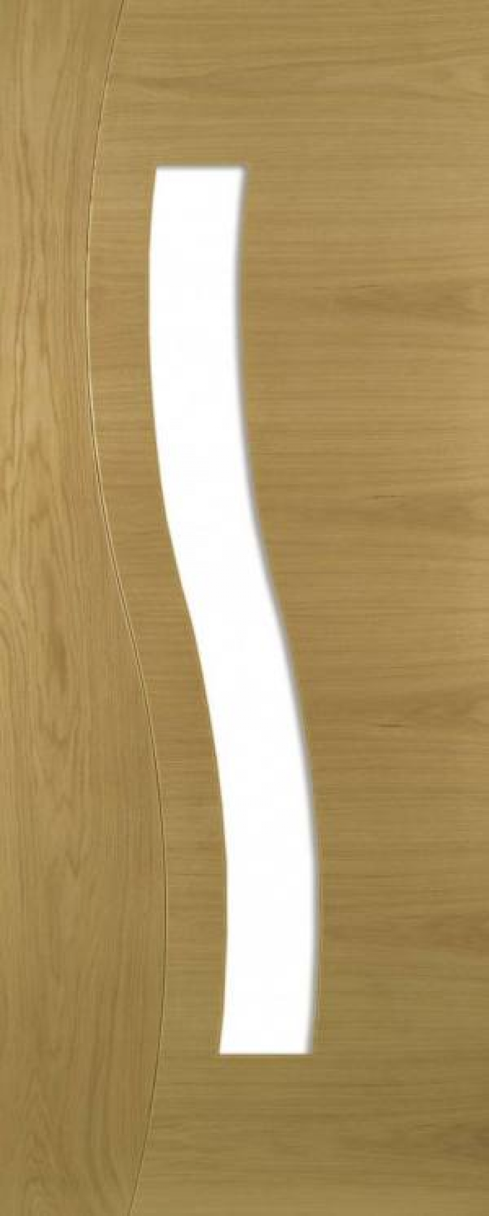 Cadiz Oak Glazed Door - Prefinished