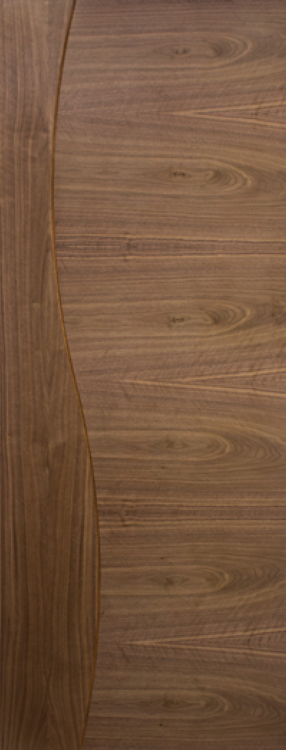 Cadiz Walnut Door - Prefinished
