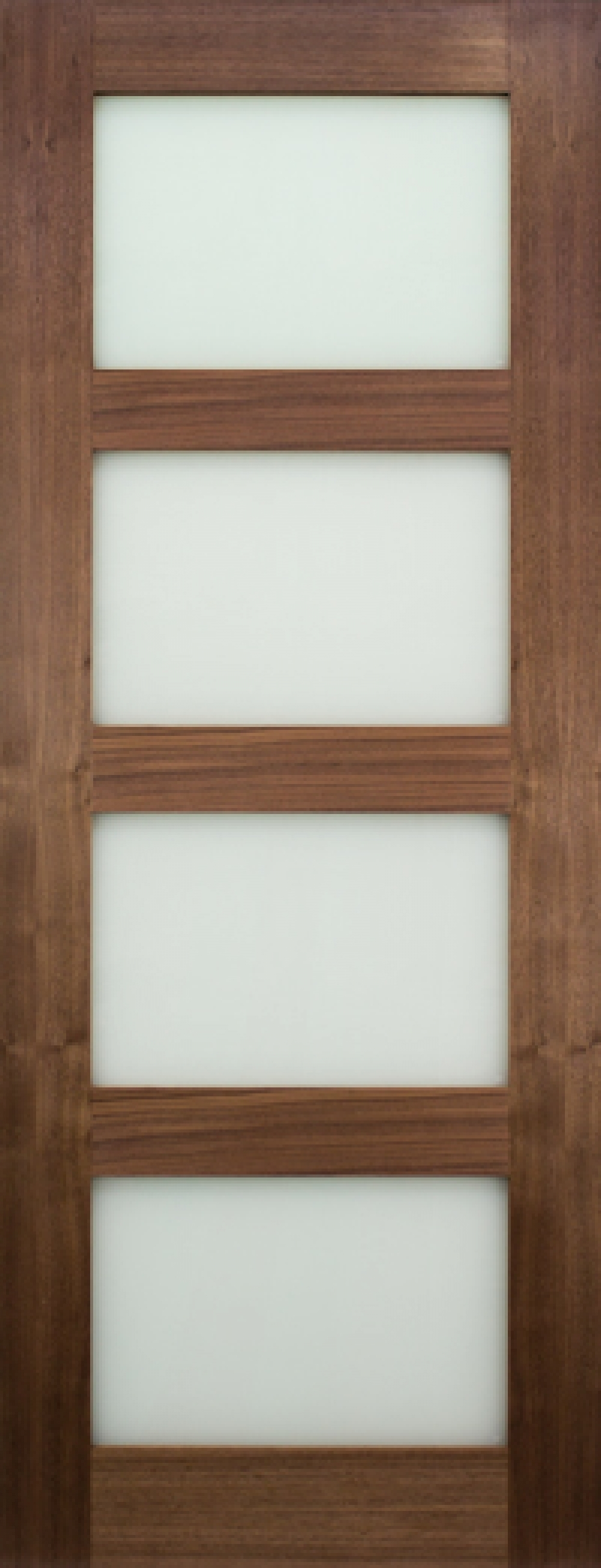 Coventry Walnut Glazed - Frosted Prefinished