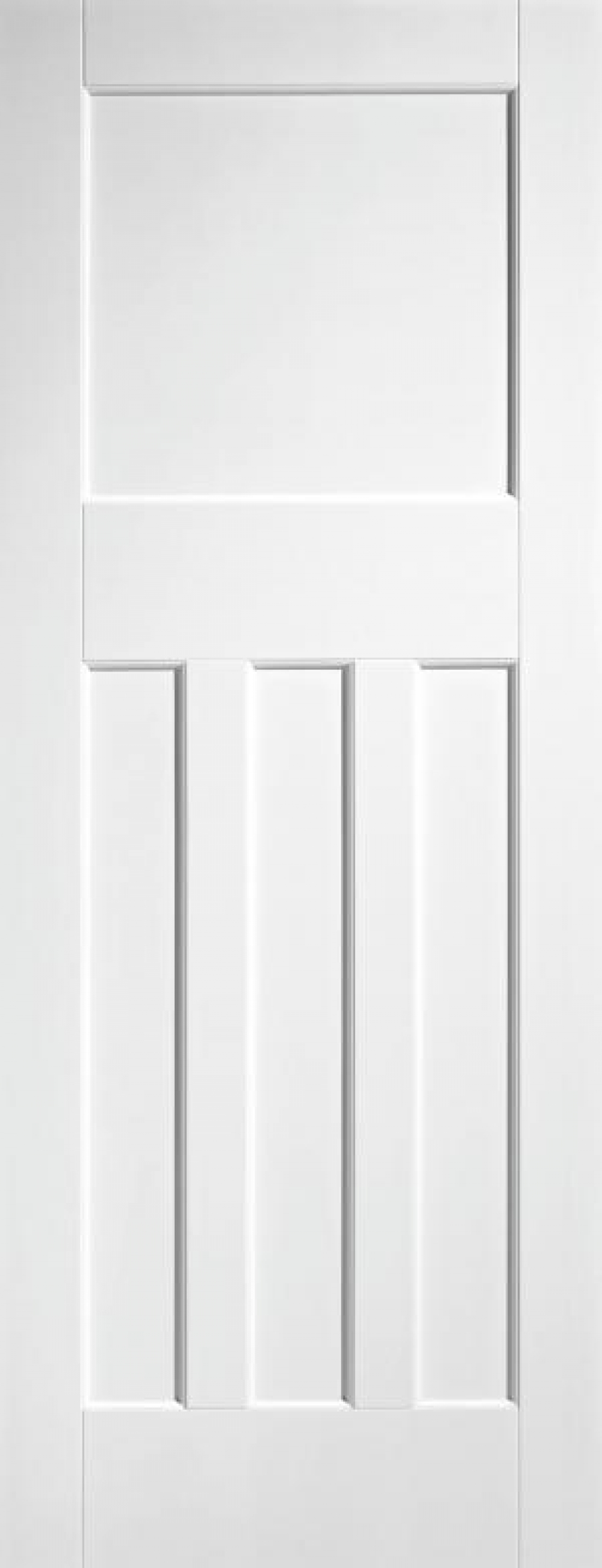 DX 30's Style White Primed Door