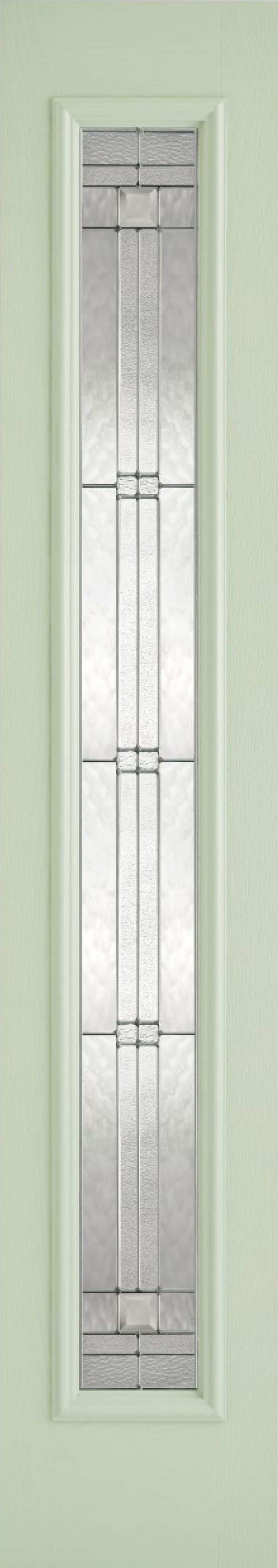 Elegant Green Composite Sidelight