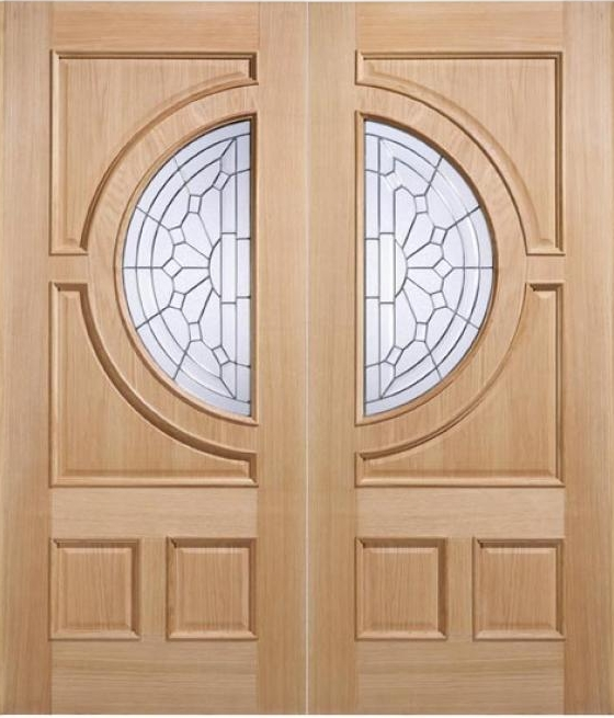 Empress Oak Door Pairs