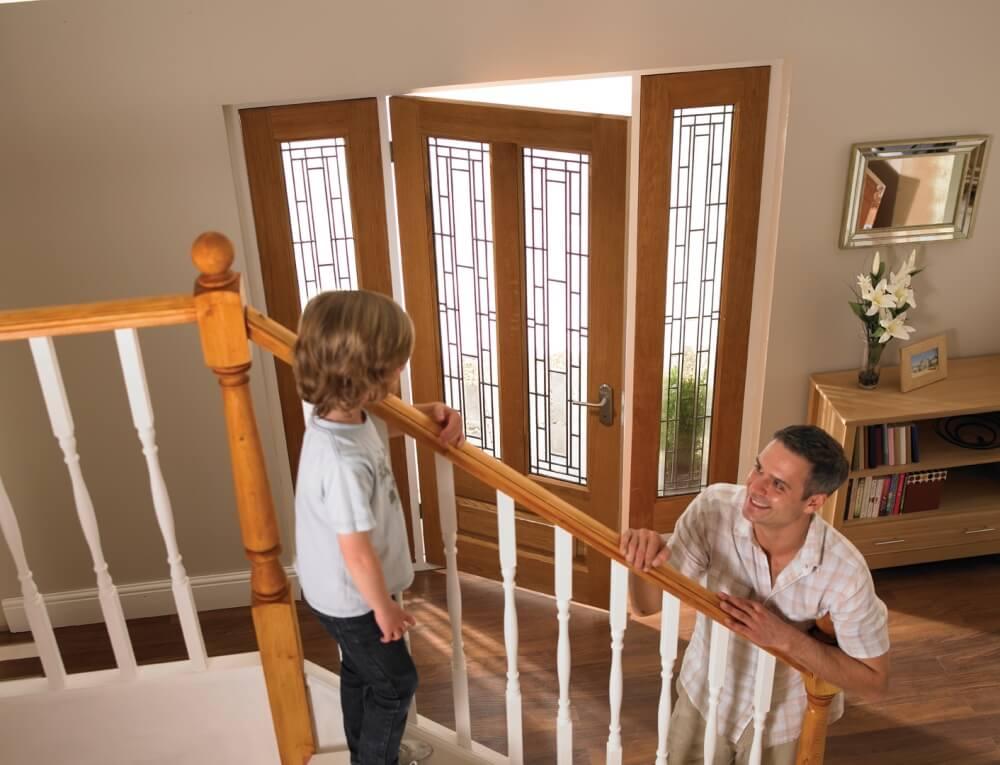 Hardwood Exterior Door Frames - Vibrant Doors
