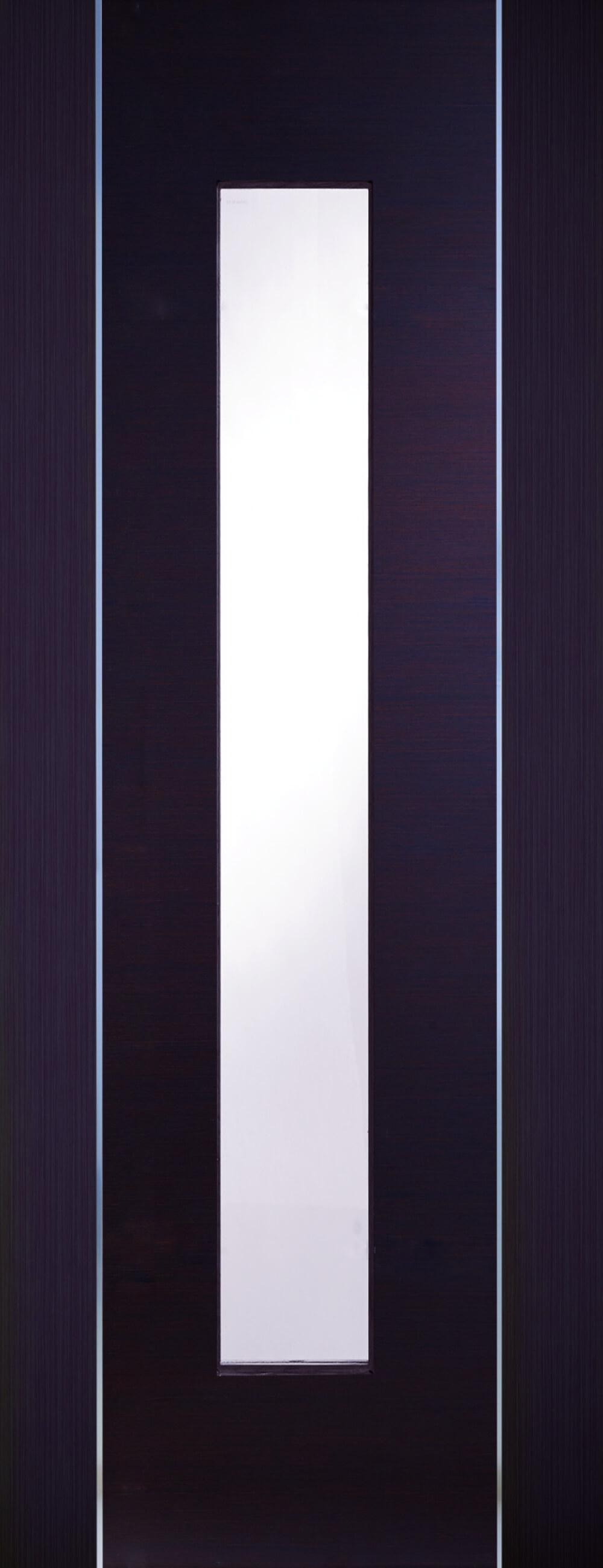 Forli Walnut Glazed Door - PREFINISHED