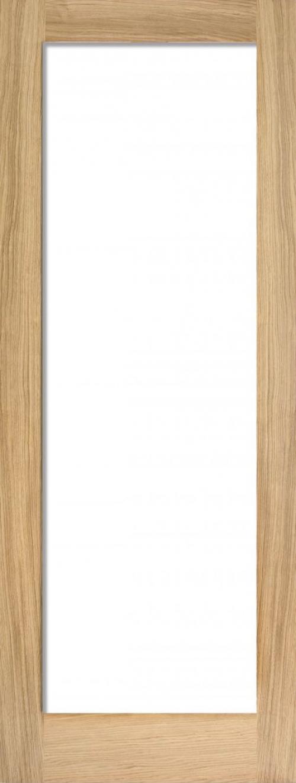 Glazed Oak P10 Door