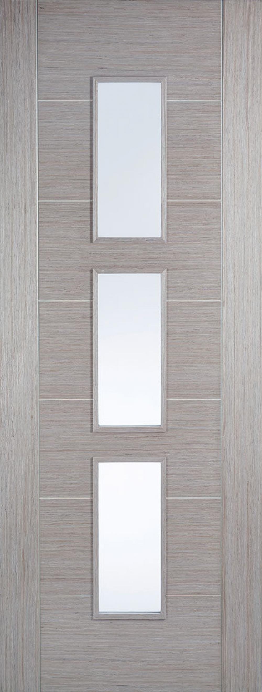 Hampshire Light Grey Glazed - PREFINISHED