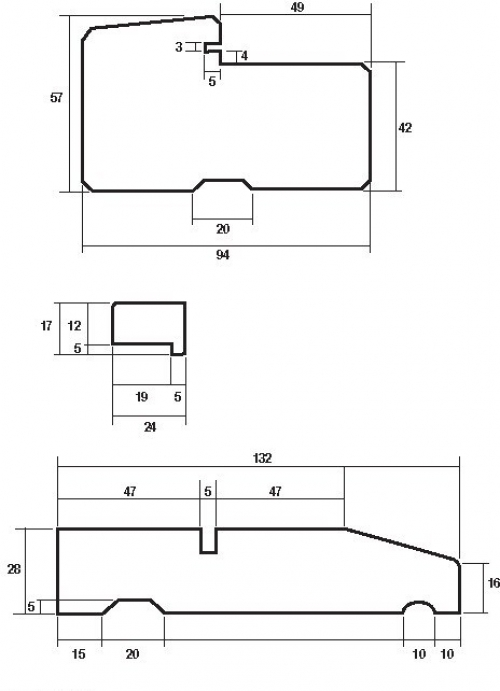 Exterior hardwood door frame to suit 78 x 33 door for Door frame sizes