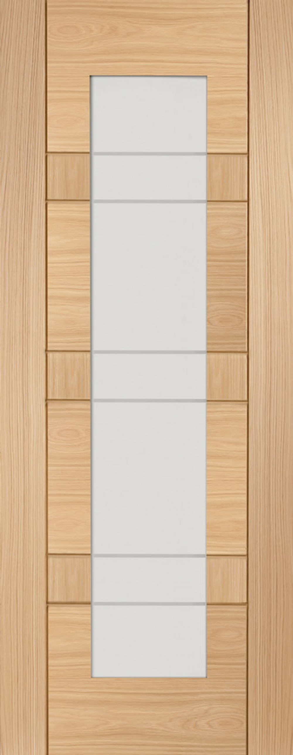 Latina Oak Glazed Door