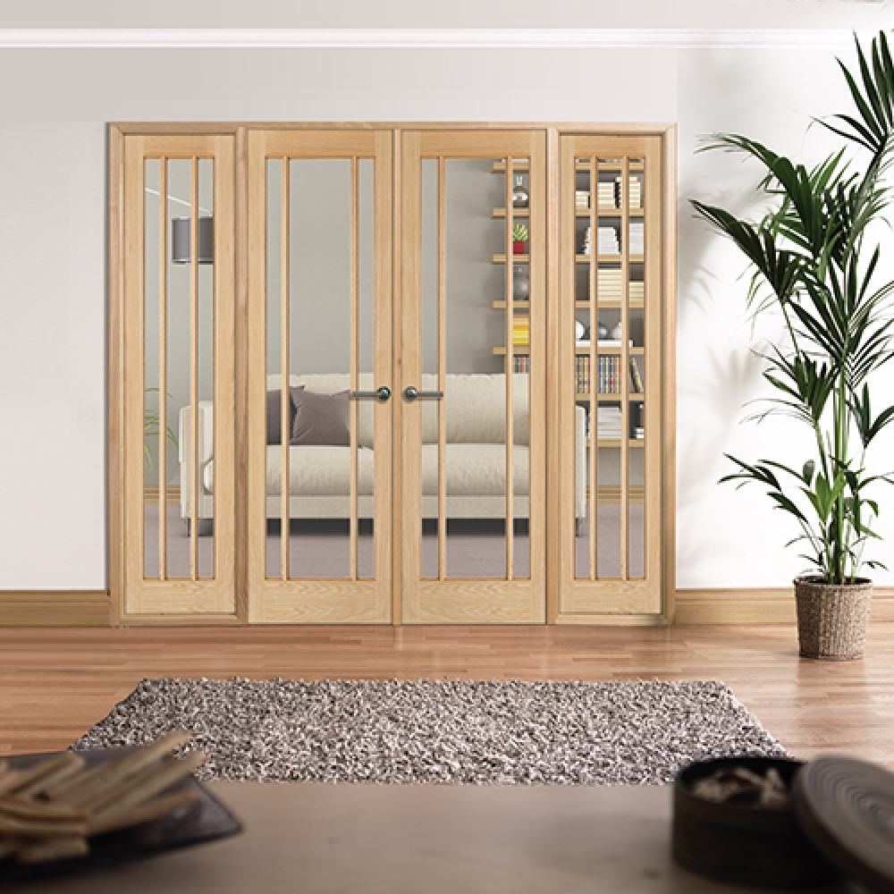 Lincoln Oak Internal Room Divider Range Vibrant Doors