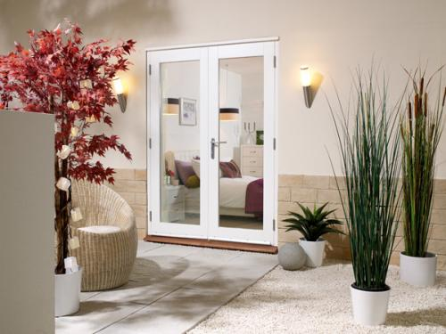 1500mm 5ft french doors lpd nuvu white prefinished for 5 ft french patio doors