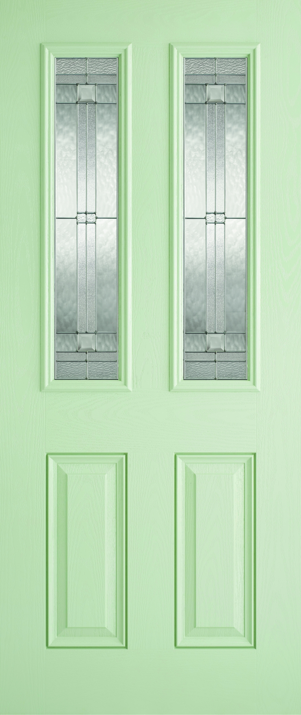 Malton Green Glazed Composite Door