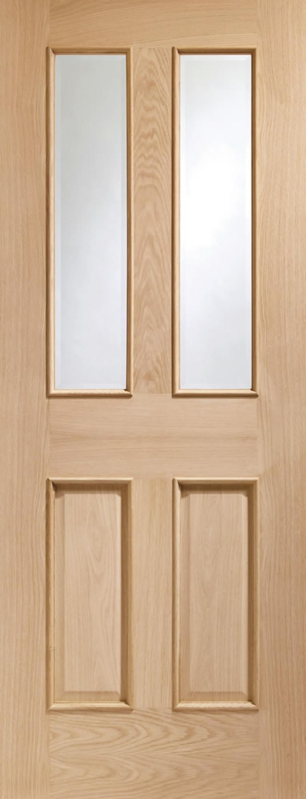 Malton Oak Glazed Door Rm2S
