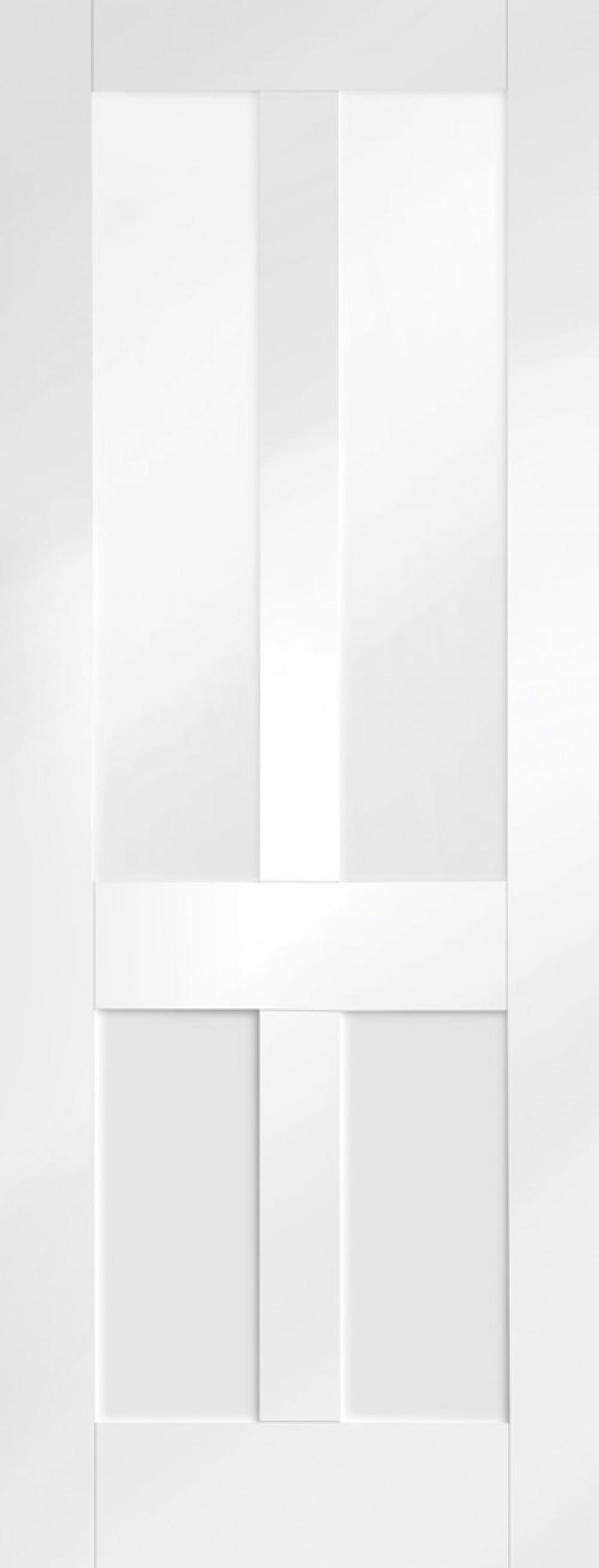 Malton Shaker Glazed White Door