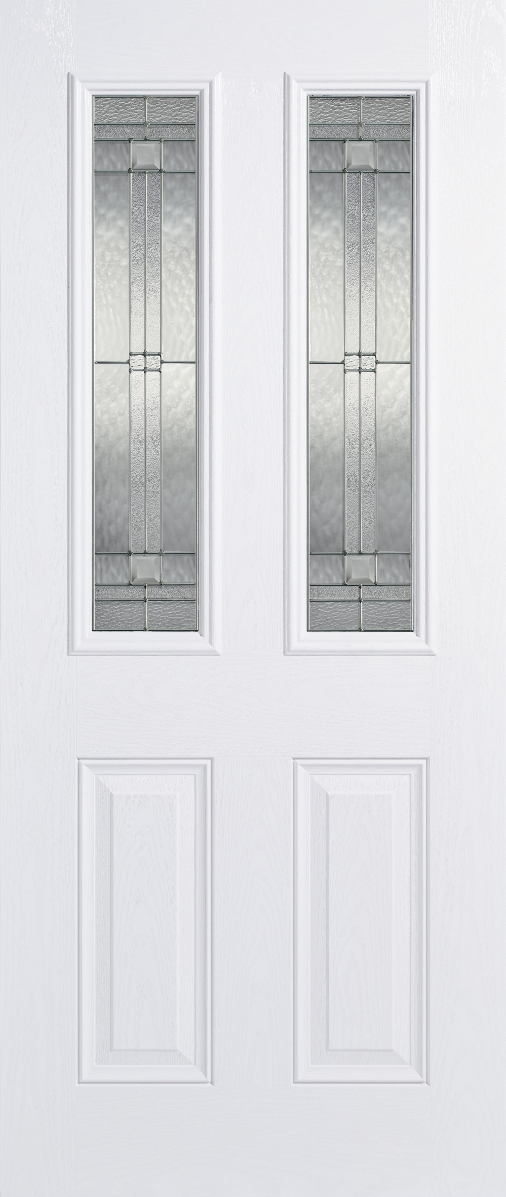 Malton White Glazed Composite Door
