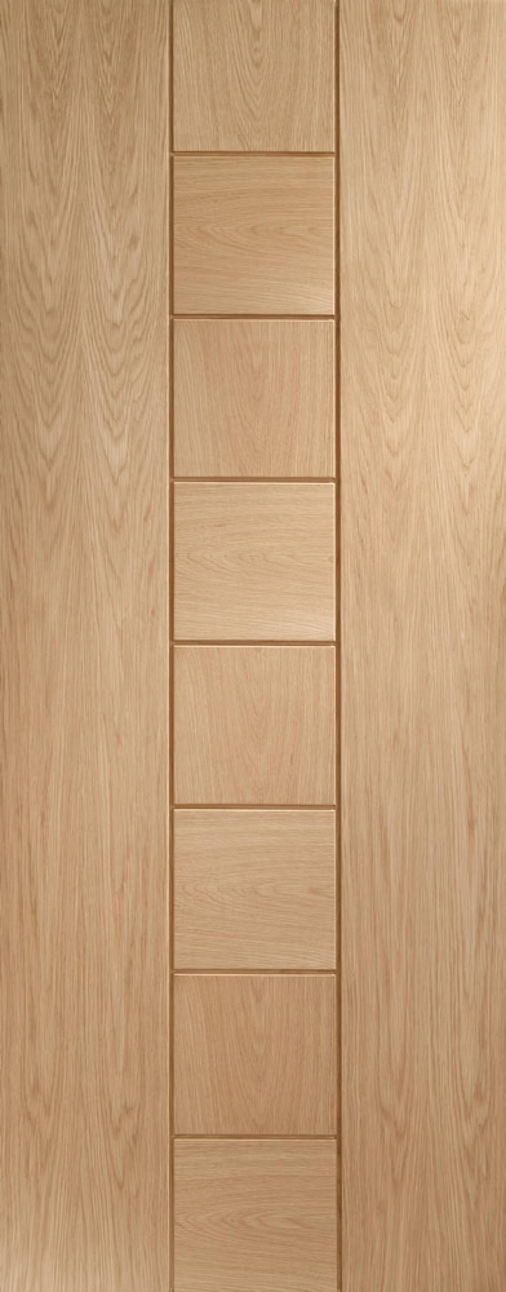 Messina Oak Door - PREFINISHED
