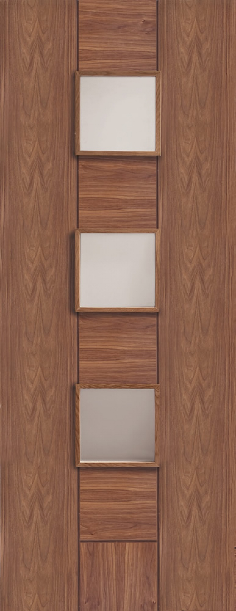 Messina Walnut Glazed  Door - PREFINISHED