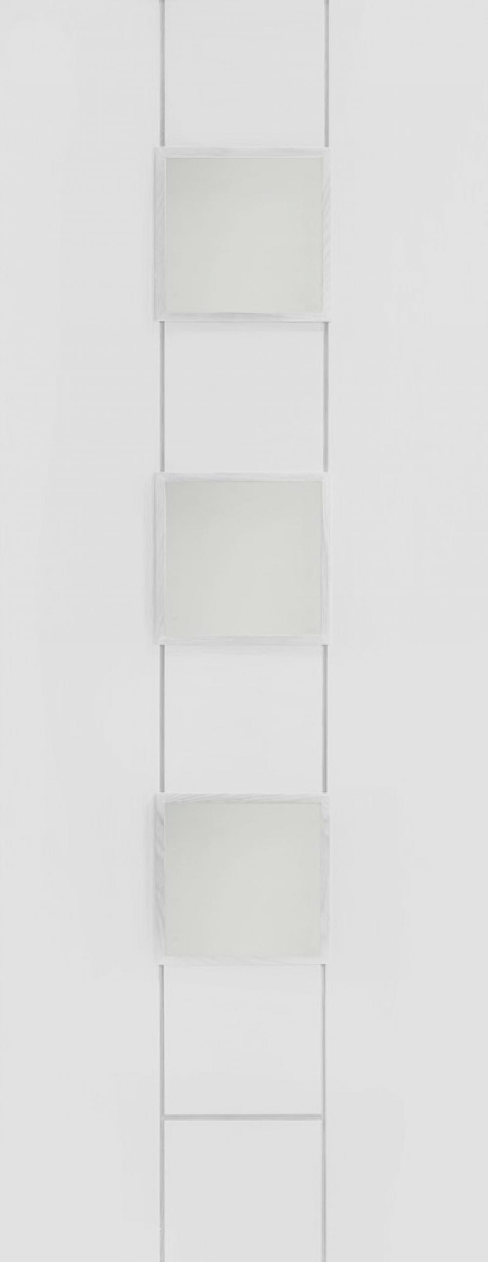 Messina White Glazed Door