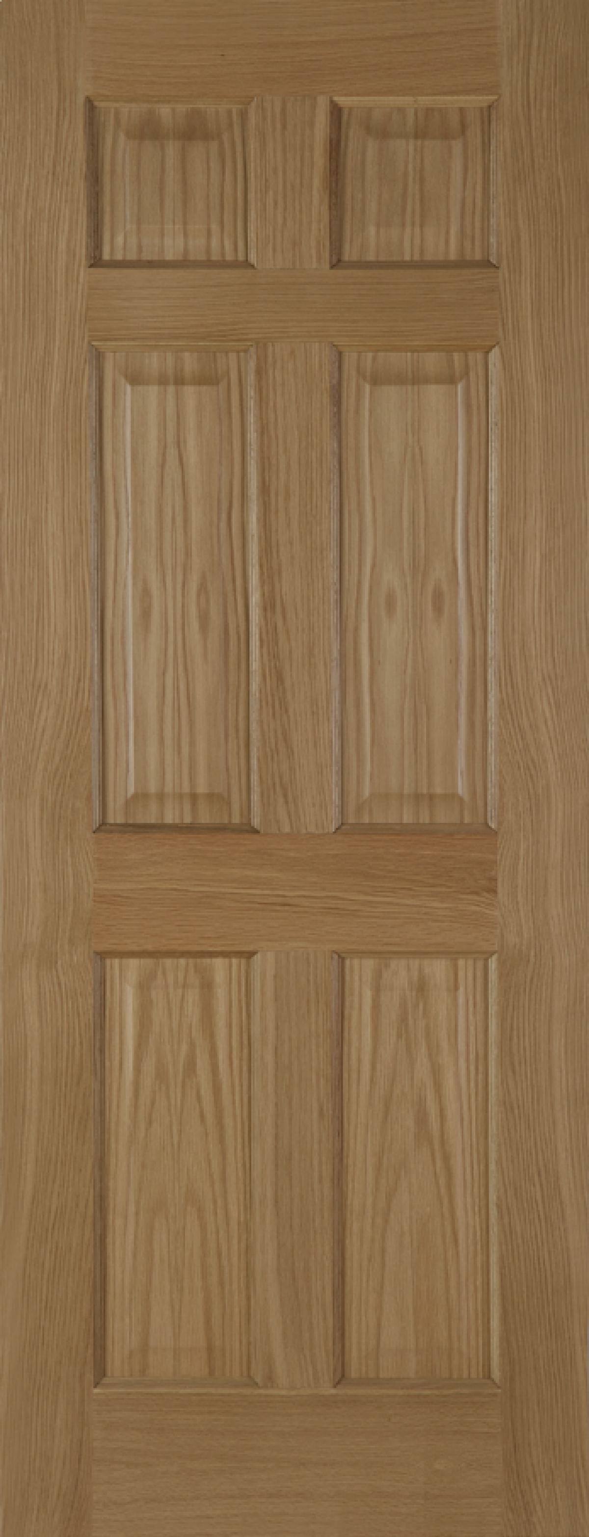 Oak 6 Panel