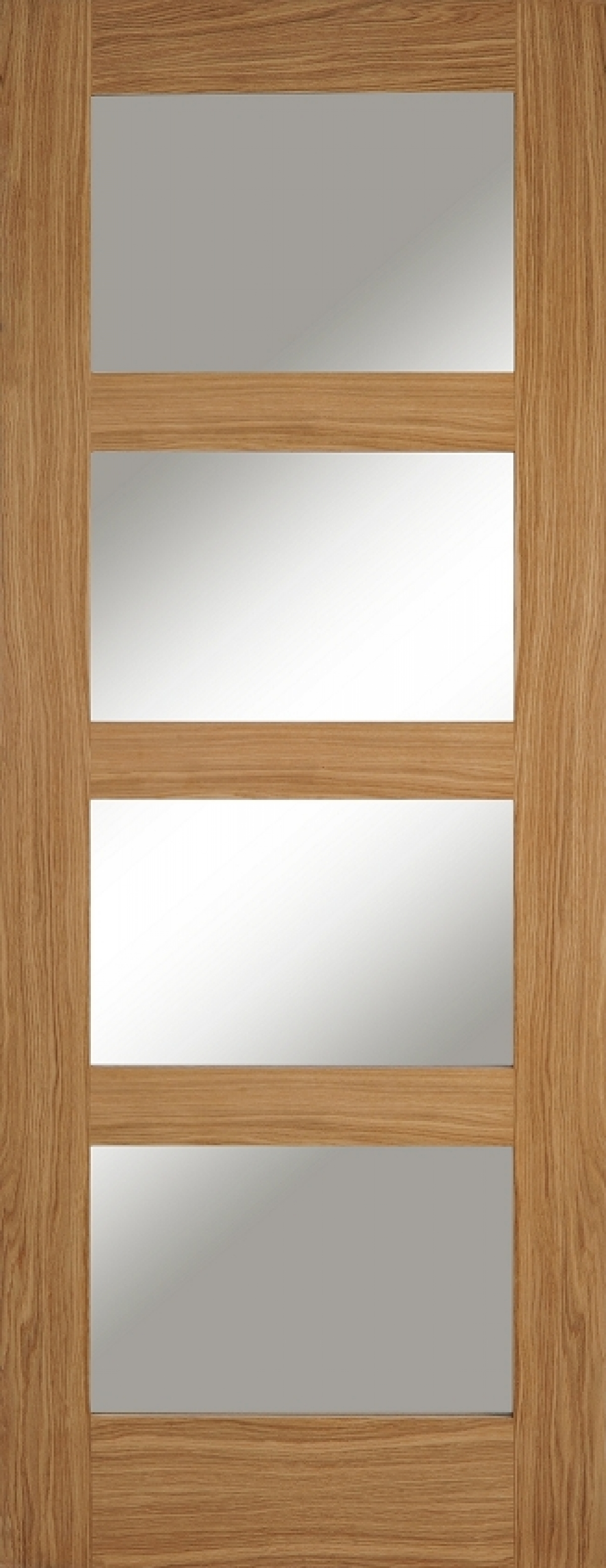 Oak Contemporary 4 Light - PM Mendes & Oak Contemporary 4 Light - PM MENDES | Vibrant Doors