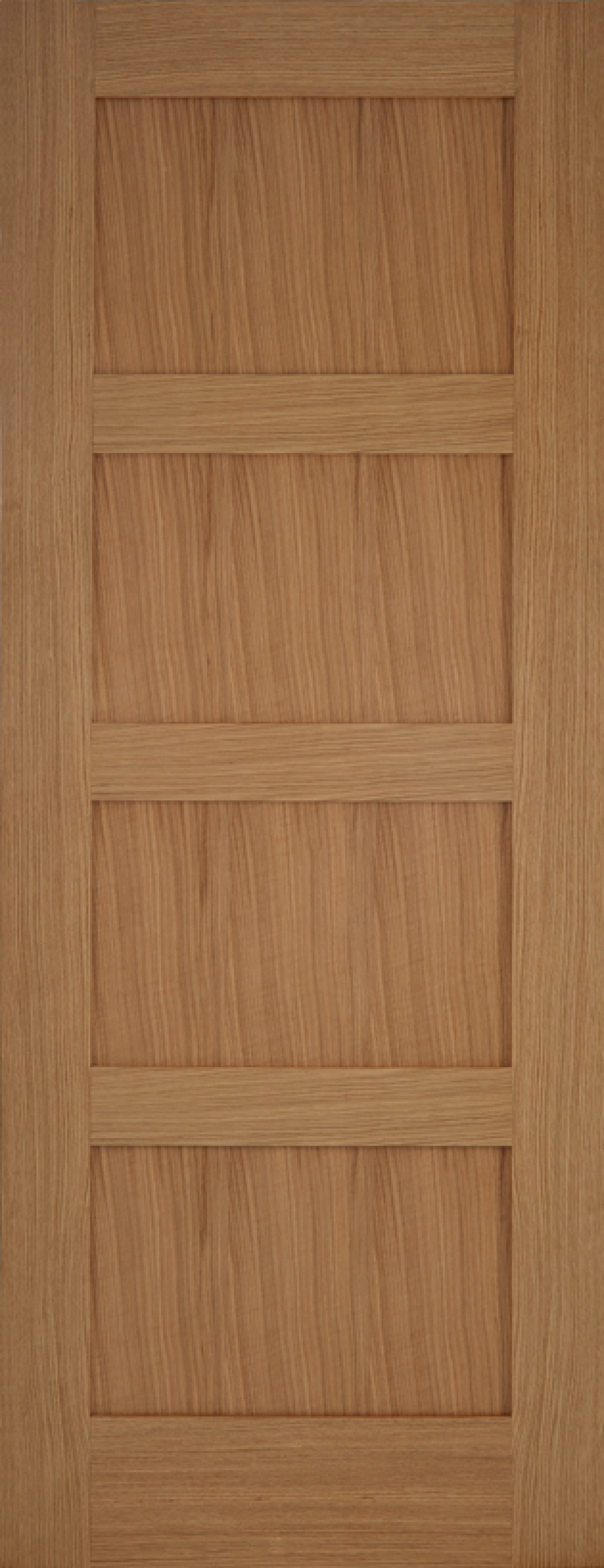 Oak Contemporary 4 Panel - PM Mendes