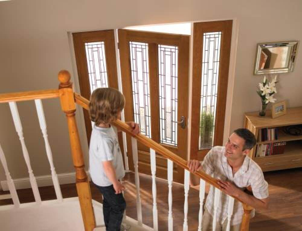 & Oak Doors Frames External/Exterior And Vestibule From Vibrant Doors