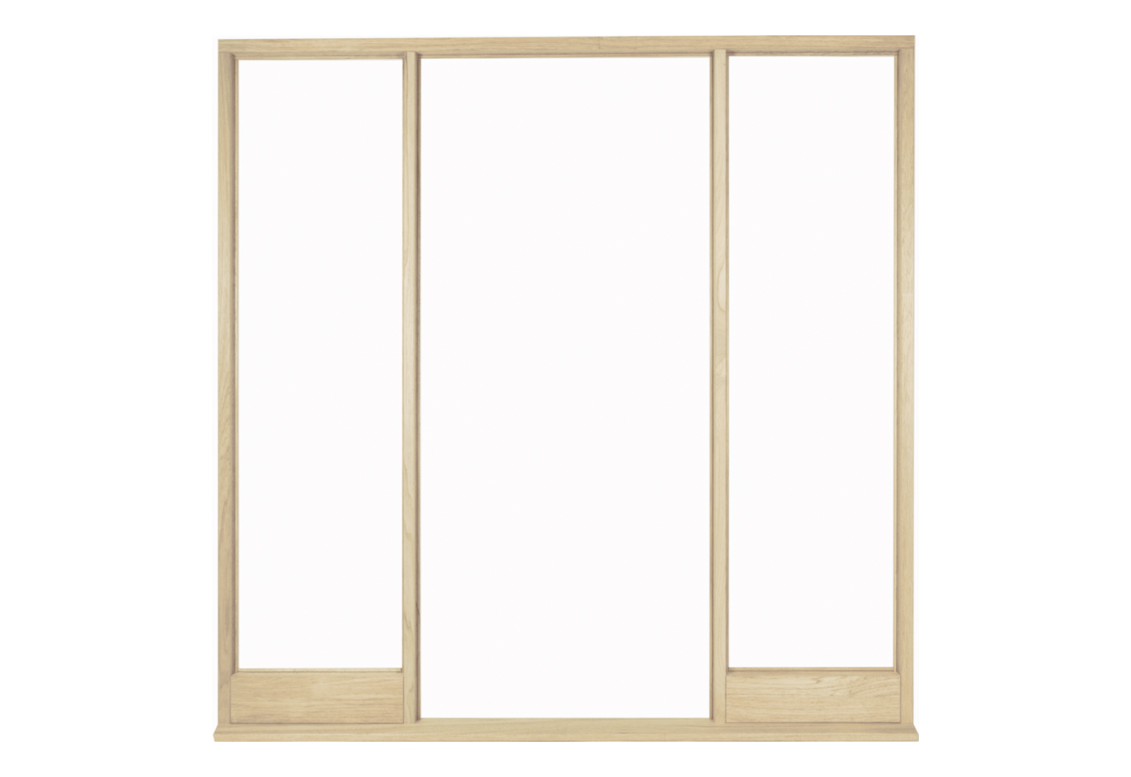 Universal External Oak Vestibule Door Frame For Direct Glazing ...