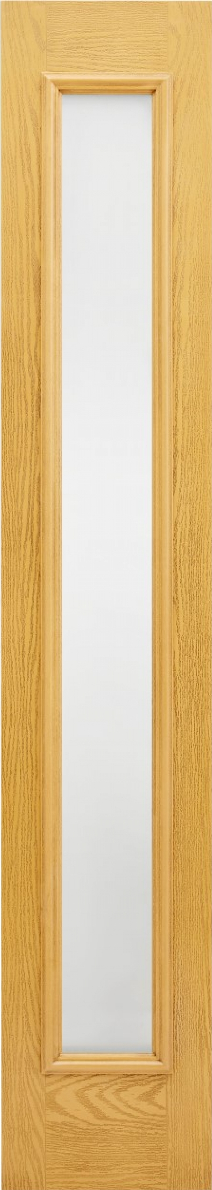 Oak Frosted Glazed Composite Sidelight