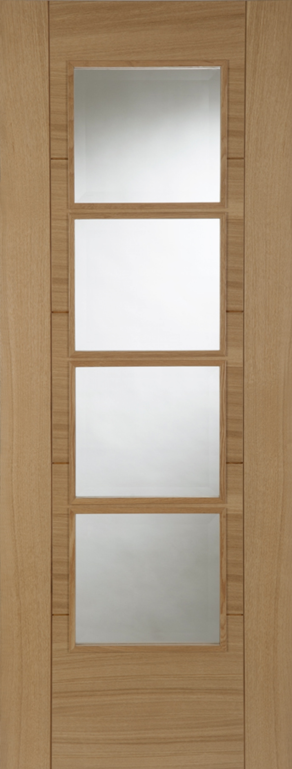 Oak Iseo Central 4l Deluxe - Prefinished Unglazed FD30