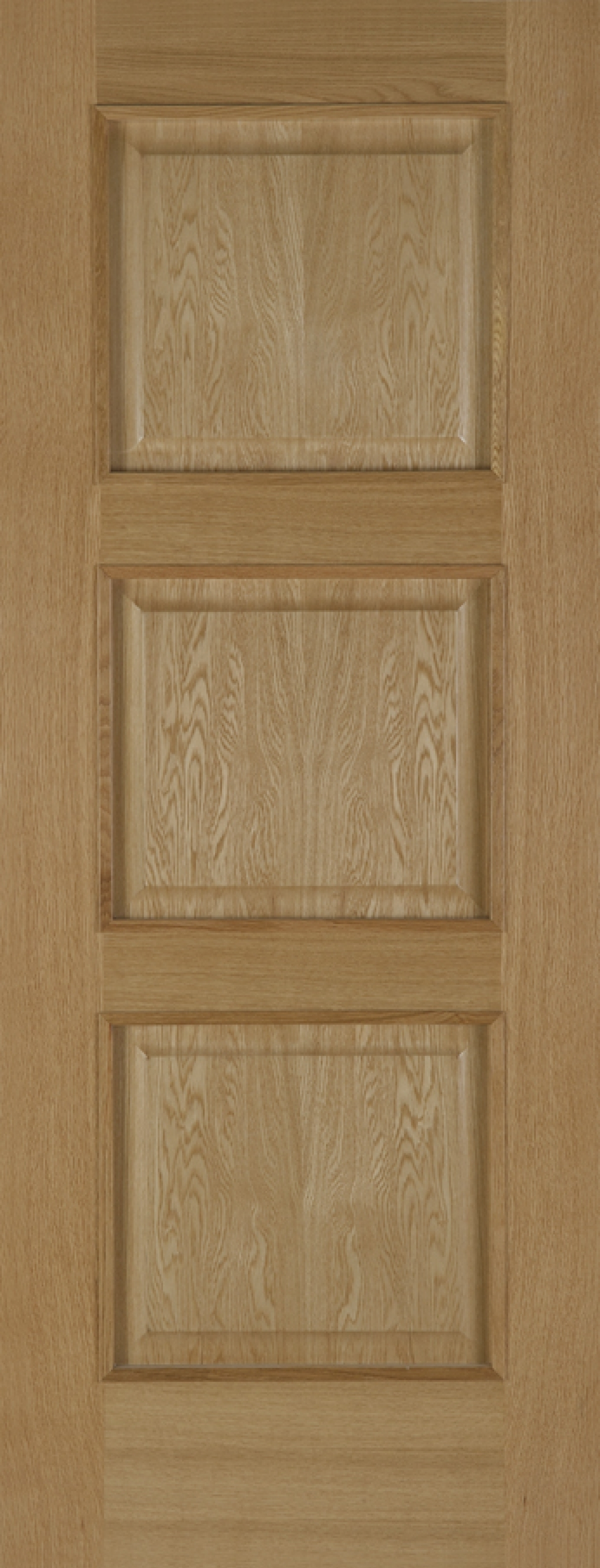 Oak Madrid 3 Panel - Prefinished