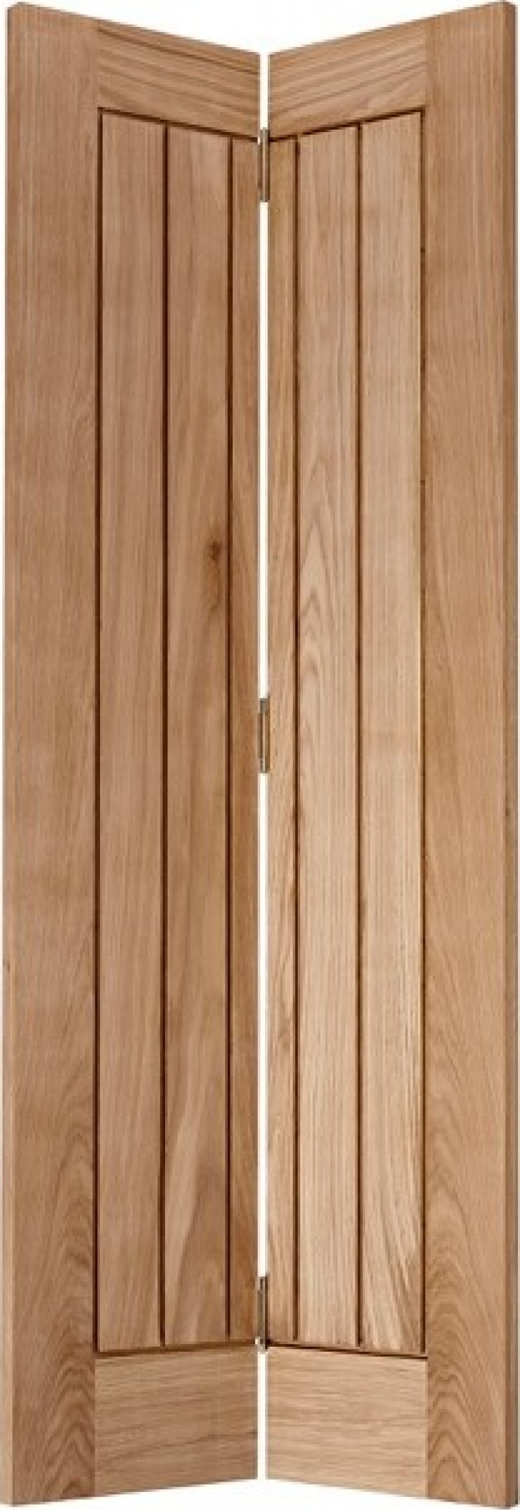 Wooden Internal Doors With: Oak Mexicano Bi-Fold Door