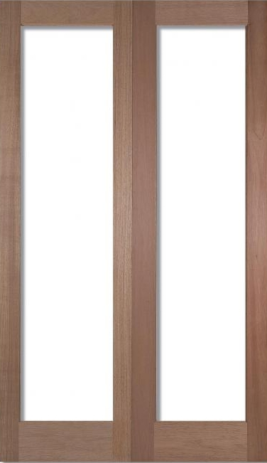 Pattern 20 Unglazed Pairs Hardwood Internal Doors