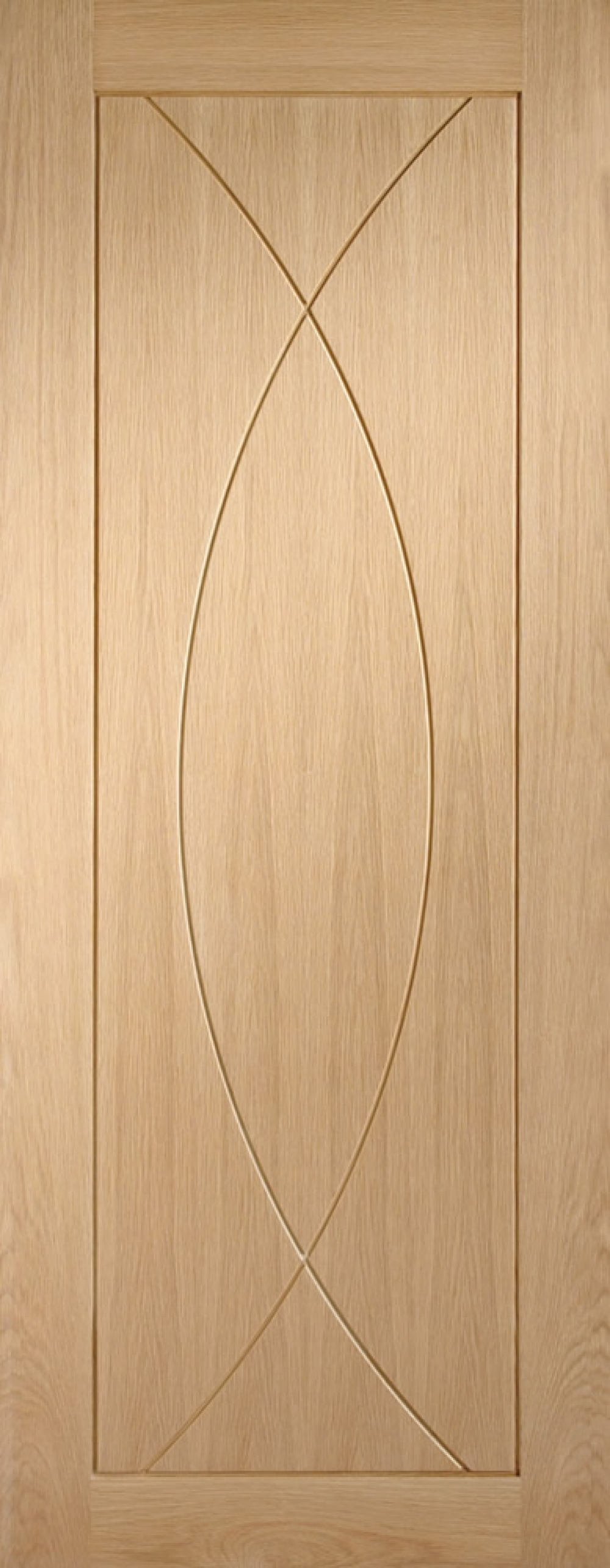 Pesaro Oak Door - PREFINISHED