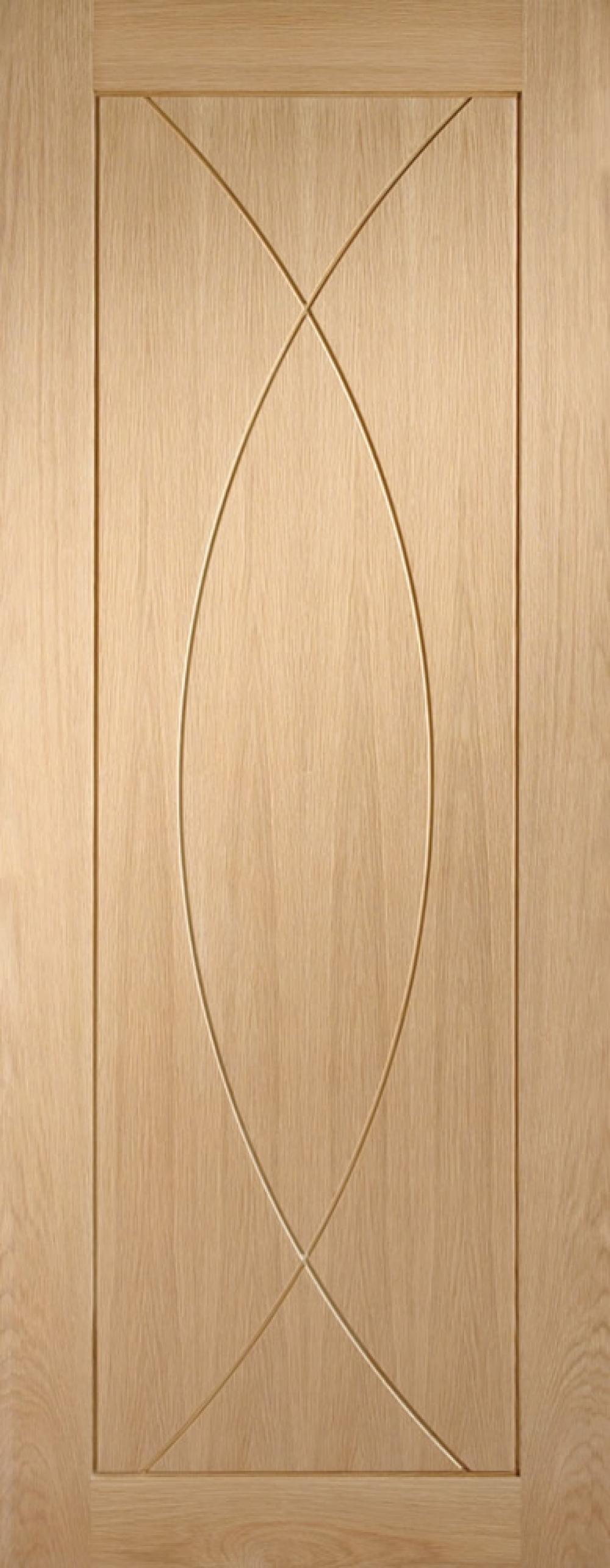 Pesaro Oak Door - PREFINISHED