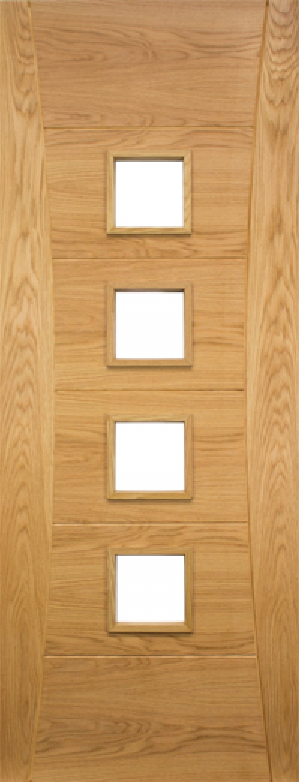 Pamplona Glazed Oak Door - Prefinished