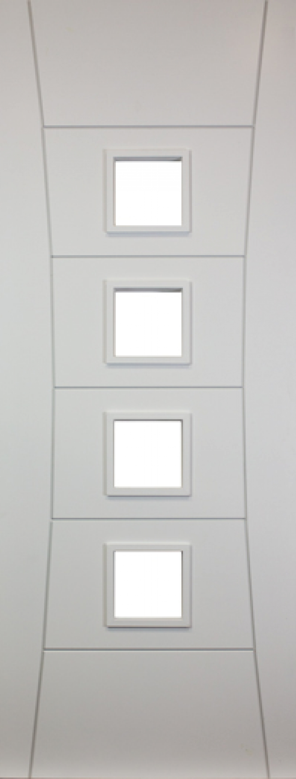 Pamplona White Glazed Door