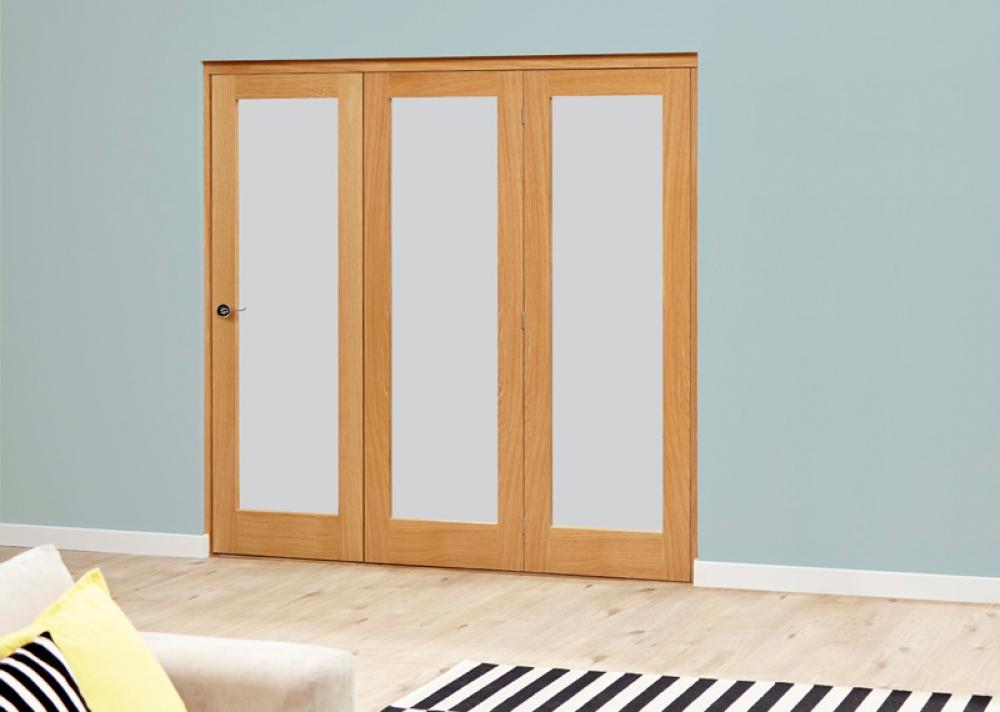 Porto Oak Roomfold Deluxe Internal Bifold Doors By Climadoor