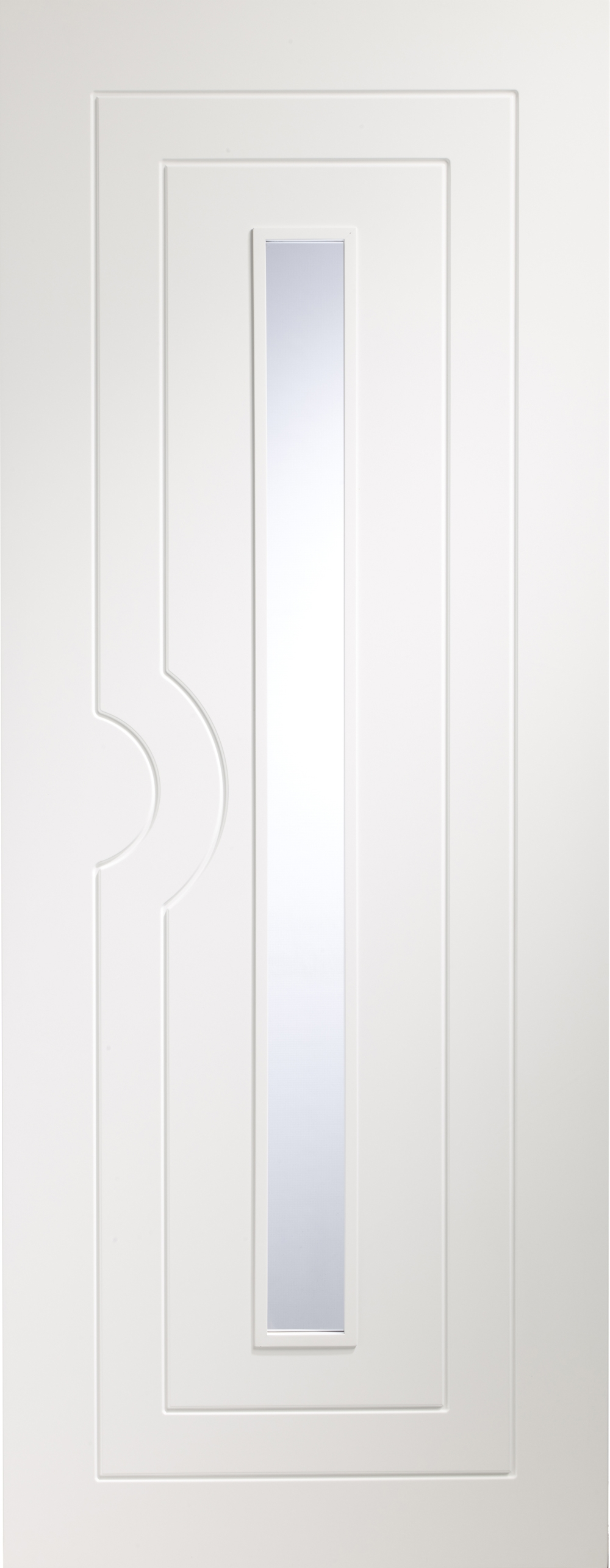 Potenza White Glazed Door - PREFINISHED