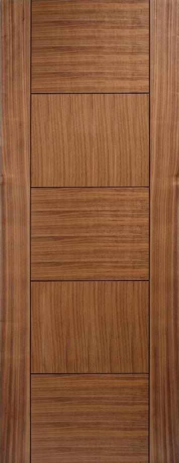 Quebec Walnut Door - Prefinished