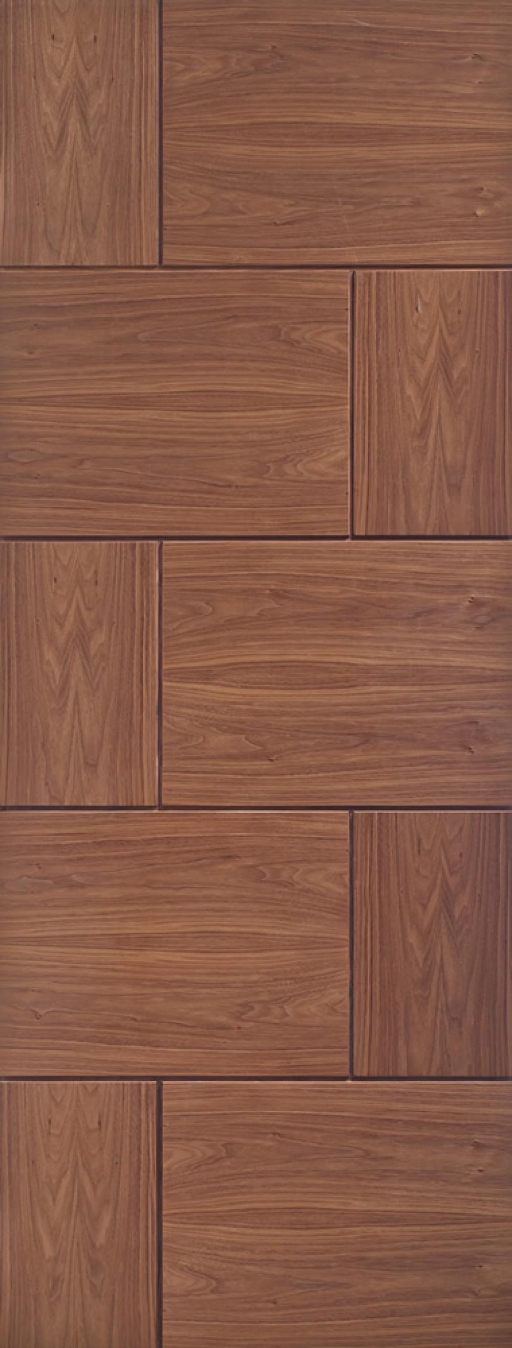 Ravenna Walnut  Door - PREFINISHED